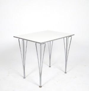 ware 3226377 piet hein bruno mathsson tisch mit spannbeinen f r fritz hansen. Black Bedroom Furniture Sets. Home Design Ideas