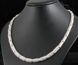 18kt diamond necklace approx. 4.50ct