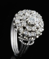 18kt. diamond ring approx. 1.00ct