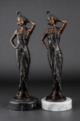 Skulpturer af bronze (2)