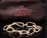 Ole Lynggaard. 'Love Ring' armlænke i 14 kt. satineret guld