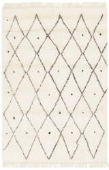 Marokkansk tæppe, 187X128 cm.