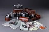Tre Leica DRP kameraer med div. tilbehør