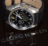 Georg Jensen, Delta Classic men's watch, Limited Edition, S42-ST71 automatic