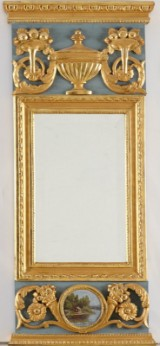 Spegel 1700-talets slut hallstämplad