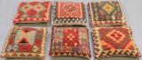 Kuddar, Kelim, Uzbak, 6 st, 50 x 50 (6)