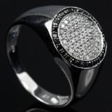 Herre diamantring fra Heartbeats ca. 0.58 ct.
