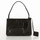 Louis Vuitton axelbandsväska Op Art i svart kroko