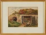 Fritz von Dardel akvarell