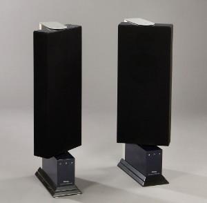 Jacob Jensen Par Dantax Hojtalere Model No 8 2 Lauritzcom - Contemporary-wood-stoves-designed-by-jacob-jensen