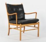 Ole Wanscher. Lænestol 'Colonial Chair' af kirsebær, model PJ149