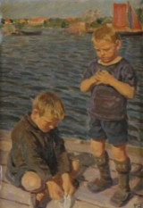 Peter Hansen. Maleri