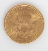00d3e567a21 United States 20 dollar mønt i guld. 1899. (San Francisco)