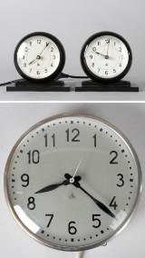 Arne Jacobsen, 2 bordsur och 1 väggur (3)