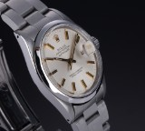 Rolex 'Datehust'. Men's watch, steel with pale dial with date, c. 1987