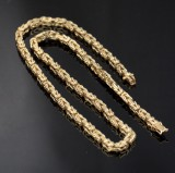 Danish byzantine chain, gold