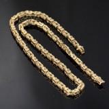Danish byzantine chain, gold