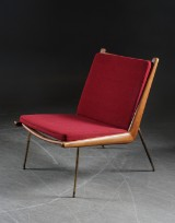 Peter Hvidt & Orla Mølgaard. Fåtölj 'Boomerang chair', FD-134