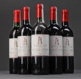 5 fl. Château Latour årgang 1967, 1983 og 1989 (5)
