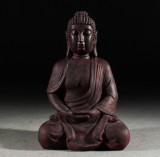 Sittande Buddha, stor skulptur, 93 cm