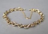 Ole Lynggaard. Bracelet, 14 kt. gold
