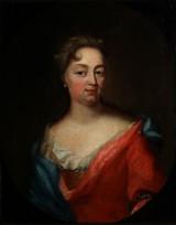 Rococo portrait by Thalia Friborg, b. Eisenberg, 1772