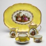 Meissen, 'Watteau Service' / coffee / tea service, porcelain (7)