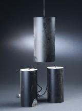 Louis Poulsen. Tre cylinderformede pendler (3)