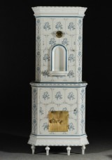 Tiled stove style cabinet, 18th century model