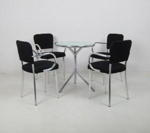 Tisch design  Set Stühle Ycami Bacco sedia und Tisch Design von Studio f.A. ...