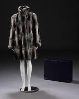 Kirsten Stampe / Kopenhagen Fur, chinchilla fur jacket