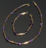 Hermann Siersbøl, armbånd og halskæde, 8 kt guld (2)