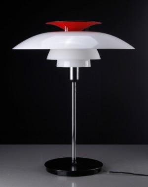 Vare: 3134186 Poul Henningsen . PH 80, bordlampe.
