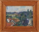 Staffan Hallström oljemålning