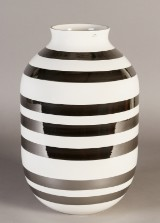 Kähler Omaggio mega jubilæumsvase, sølv, 50 cm
