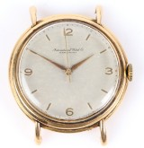 IWC Schaffhausen. Vintage herrearmbåndsur i kasse af 18 kt. guld, ca. 1960