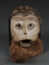 Mask, Lega Lapapa, skyddsmask, Kongo