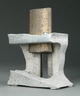 Ubekendt kunstner, skulptur af aluminium og bronze