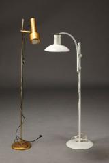 Dansk møbelproducent. To standerlamper (2)
