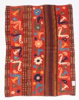 Tæppe, design 'Ozbeki Suzani', ca. 211 x 147 cm