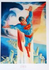 George Perez, Curt Swan og José Louis Garcia Lopez. 3 nummerede og signerede offset tryk med Superman, 1988 (3)