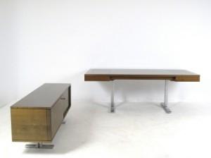 slutpris f r walter knoll dreipunkt schreibtisch. Black Bedroom Furniture Sets. Home Design Ideas