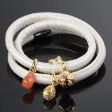 Kranz & Ziegler Story armbånd med 4 charms