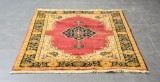 Handknuten orientalisk matta från Indien, Agra motiv, 180 x 125 cm