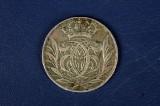 Mønter - Christian V,  1 krone 1693 og sølvmønter med mere