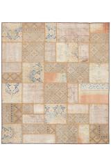 Persisk patchwork, 281x245 cm.