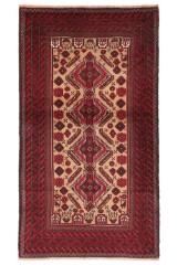 Persisk Beluch tæppe, 208x115 cm.