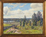 Gottfrid Kallstenius, oljemålning