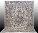 Carpet, pale Keshan, Persia, 394 x 300