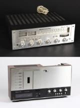 Nakamichi 700 MKll kasettebåndoptager samt Marantz receiver (2)